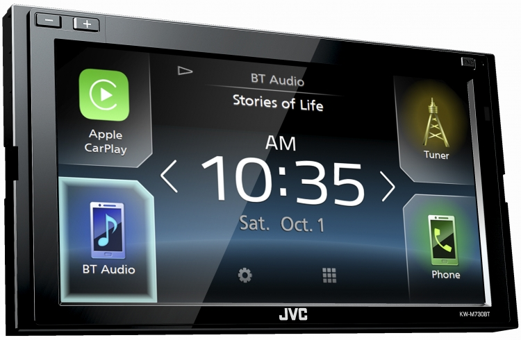 av receivers|car entertainment|jvc products kw m730btnew