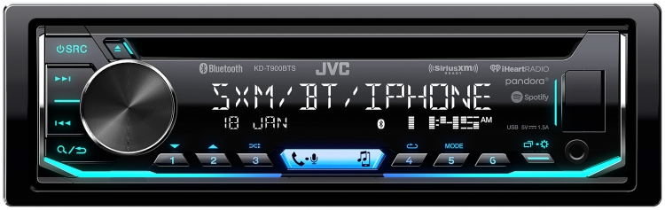 KD-T900BTS In-Dash Receivers JVC USA - Products -