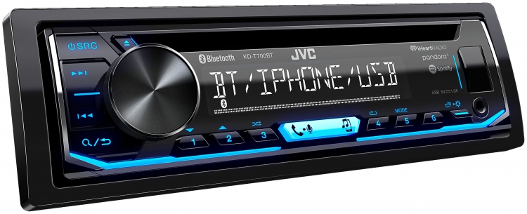KD-T700BT|In-Dash Receivers|JVC USA - Products -