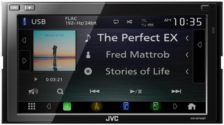 KW-M740BT|JVC Australia - Products -