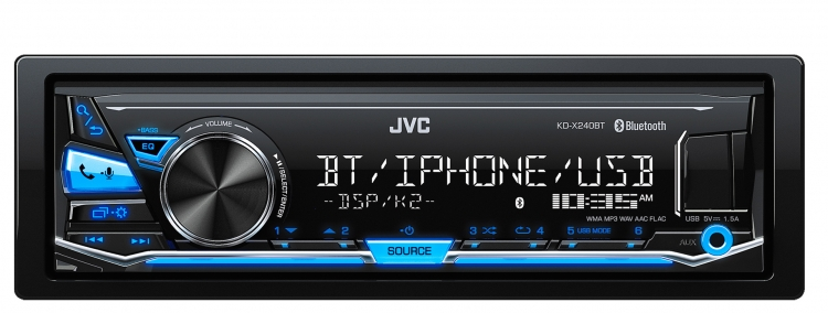 KD-X240BT|In-Dash Receivers|JVC USA - Products - on