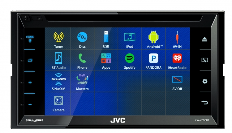 KW-V330BT|Multimedia|JVC USA - Products -