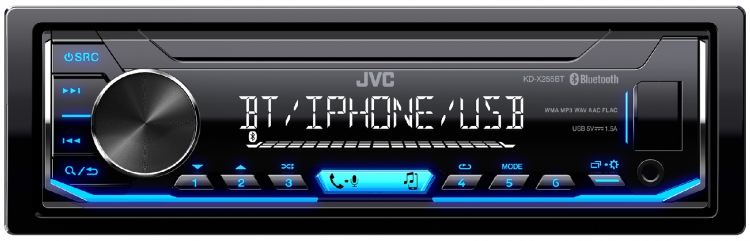 KD-X255BT |In-Dash Receivers |JVC USA - Products -