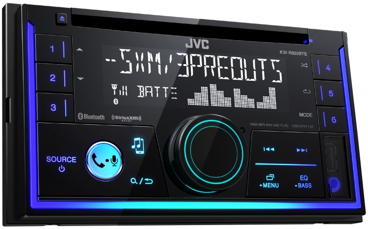 KW-R930BTS |In-Dash Receivers |JVC USA - Products -