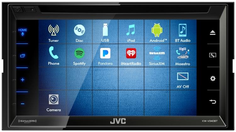 KW-V340BT |Multimedia |JVC USA - Products -
