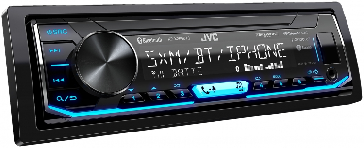 KD-X360BTS|In-Dash Receivers|JVC USA - Products - on