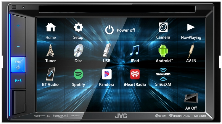 KW-V25BT|Multimedia|JVC USA - Products -